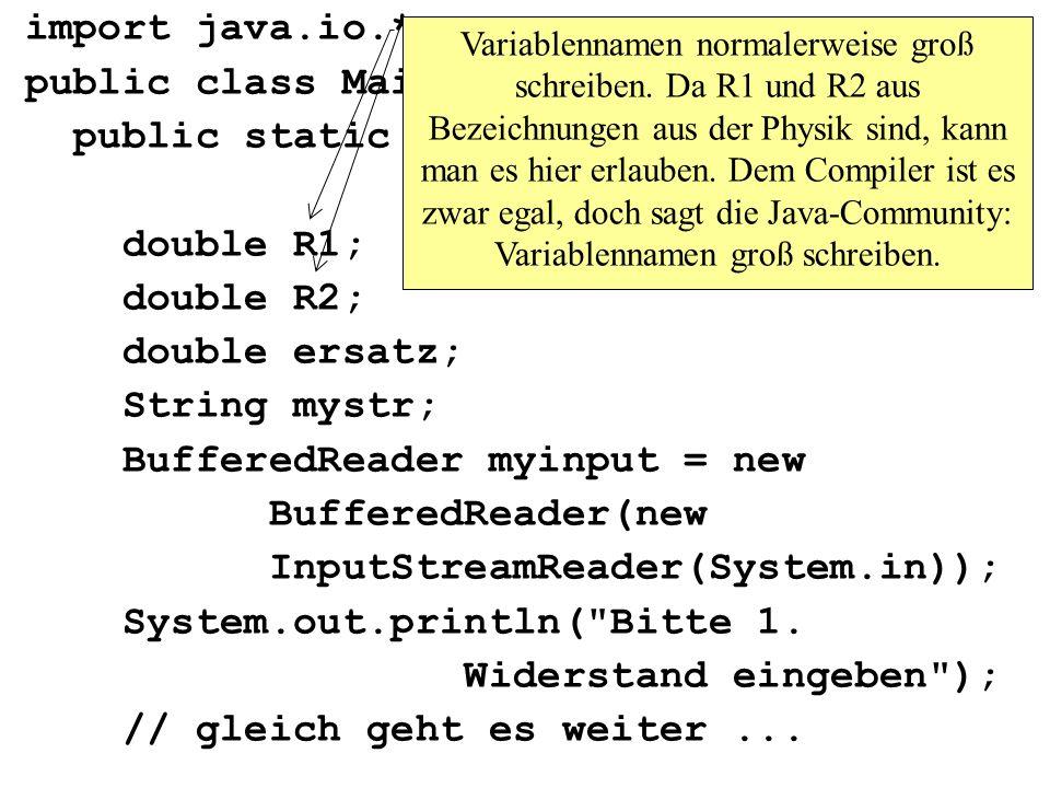 public class Maintest2{ public static void main(String args[])